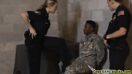 Kinky cops banging young black dude