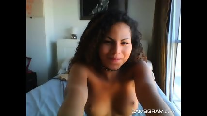 Sexy Stand-Up-Titted Teen Loves Playing With Your Body