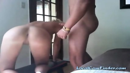 Blondies anal hole gets licked fingered and fucked on livecam
