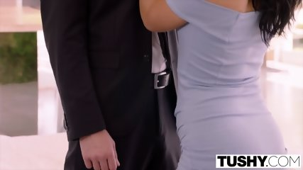 TUSHY Bridesmaid Has Anal Sex With Sisters Husband On Wedding Day - scene 3