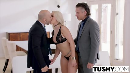 TUSHY Alexis Intense Anal Double Penetration - scene 3