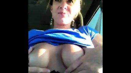 Shannon Dubois Car Boobies!!!