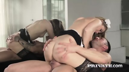 Mary Kalisy, Debuts In Private As A Slutty Maid - scene 9