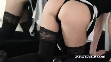 Mary Kalisy, Debuts In Private As A Slutty Maid - scene 3