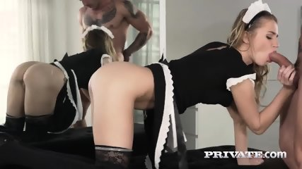 Mary Kalisy, Debuts In Private As A Slutty Maid - scene 4