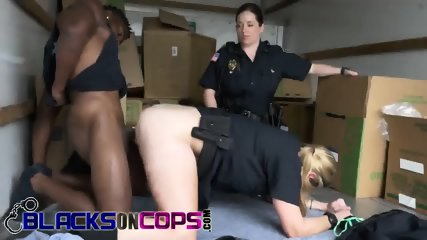 Public servants get served meaty black dick