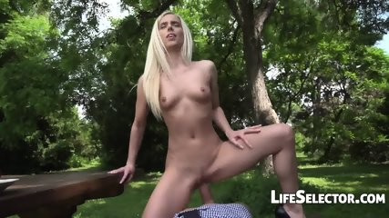 Nesty - Fucked In The Park (POV) - scene 11