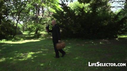 Nesty - Fucked In The Park (POV) - scene 3