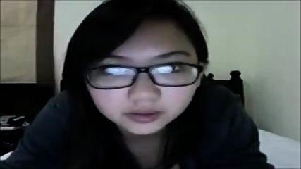 Le show webcam de la fille