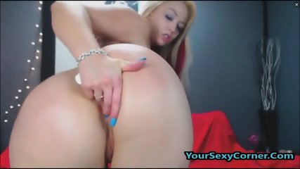 Wild Slut Bounce Big Ass On BBC Dildo In Reverse Cowgirl