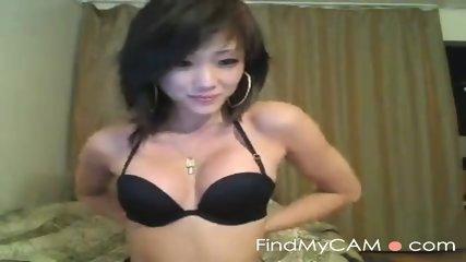 Sexy Japanese slut teases on cam