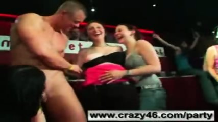Drunk Girls Suck Strippers Cocks at Party - scene 6