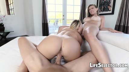 Kagney And AJ - Epic Threesome - scene 8