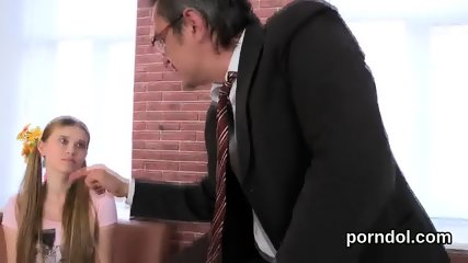 Lovable college girl gets seduced and pounded by her senior lecturer