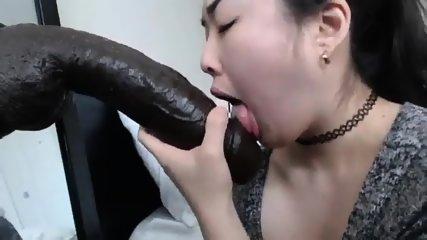 Hot Asian Blowjob - Watch Part 2 at Camgirlgotwild.com