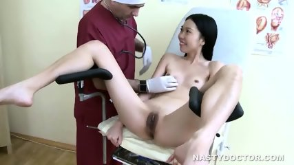 Asian teen got dick treatment