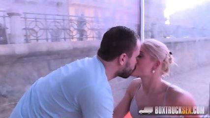 Blondie Fucked In Box Truck - scene 6