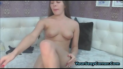 Cute 18yo Brunette Teen Loves Anal And Pussy Fuck