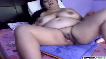 big tits bbw dildo pussy fuck and ride