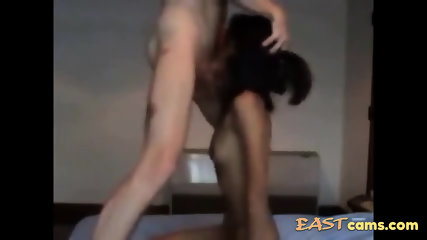 Slender Asian chick facefucked and doggy fucked