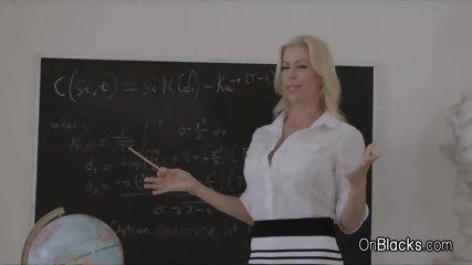Big black tits teacher, fat pussy of white girl