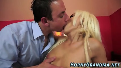 Dirty cougar mouthful