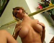 Shay Laren getting naked 1 - scene 10