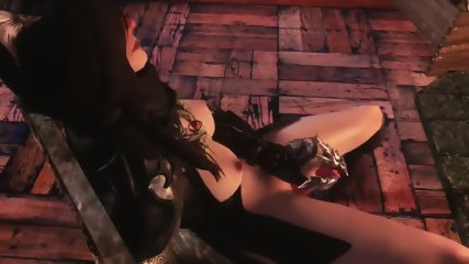3D Queen Of Darkness Summoned For Herself A Horny To Fuck Her Up Hentai - scene 1