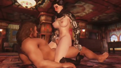 3D Queen Of Darkness Summoned For Herself A Horny To Fuck Her Up Hentai - scene 3