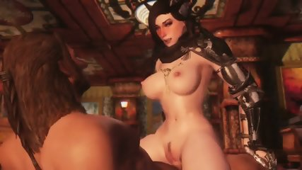 3D Queen Of Darkness Summoned For Herself A Horny To Fuck Her Up Hentai - scene 4