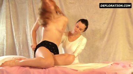 Hairy Teen Being Massaged - scene 1