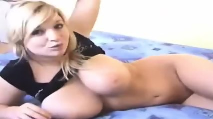 Busty Blonde Webcam Girl