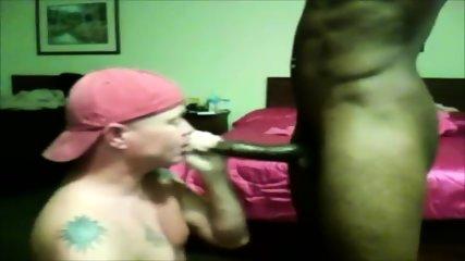 White Guy Sucking Black Cock- Watch Part2 On