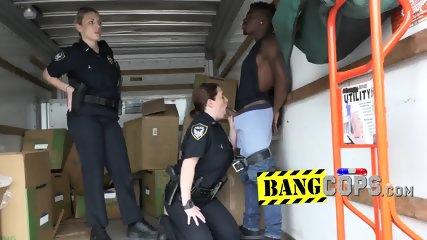 Spoiled curvaceous MILFs devouring a black cum gun
