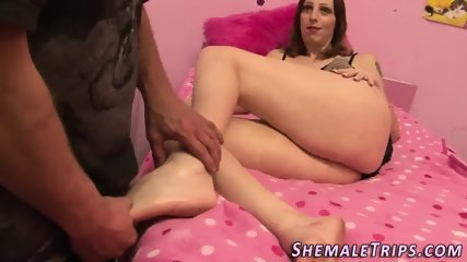 Ass banged shemale sucks