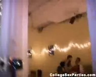 Shy girl has sex at a college party - scene 3