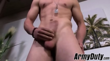Hung Kevin Grey with nice body and ass jacking off for you