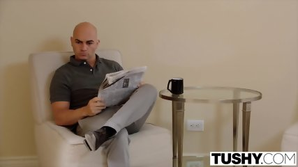 TUSHY Chanel Pushes Her Anal Limit With Rough Anal Like Never Before - scene 2