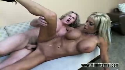 Misty fucks him and tastes her pussy - scene 2