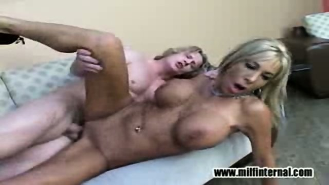 Misty fucks him and tastes her pussy