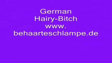 German hairy Bitch - scene 8