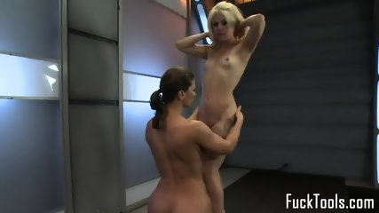 Fisting lesbian pussylicks before anal toying