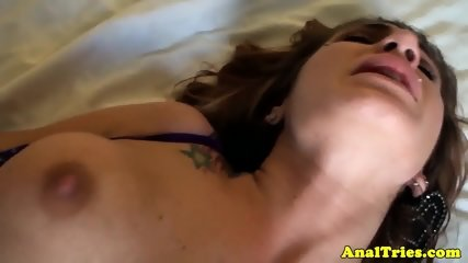 Bigtitted ginger girlfriend anally fucked - scene 12