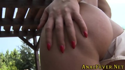 Whore gets ass railed