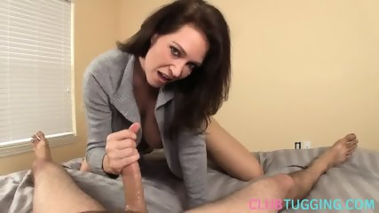 Busty handjob milf shows bigtits during hj - scene 4
