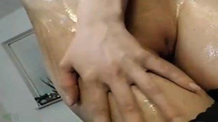 Sexy Blonde Olie En Cream Cum - scene 1