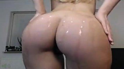 Sexy Blonde Olie En Cream Cum - scene 6