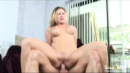 Big Tit Cougar Rides Cock Like Crazy - scene 11
