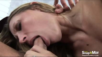 Big Tit Cougar Rides Cock Like Crazy - scene 4