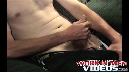 Nasty old dude Daniel loves spraying his cum all over - scene 2